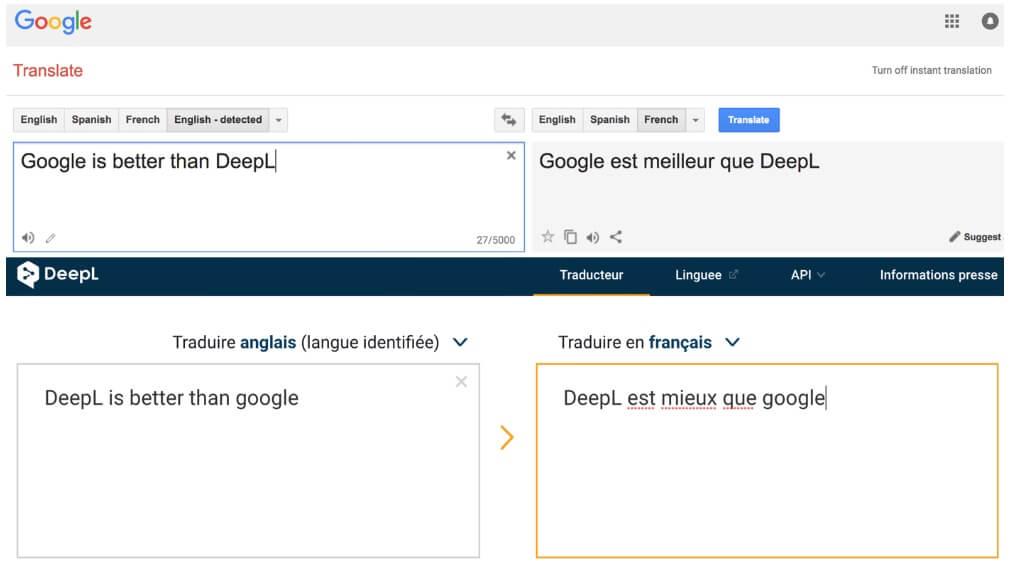 Google Translate vs. DeepL: Worthy Competitors?
